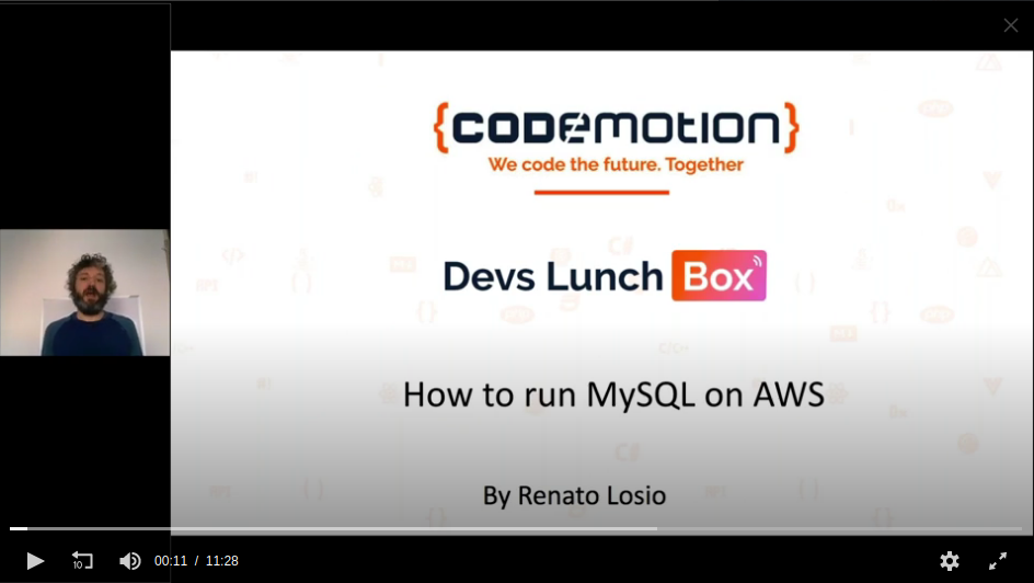 Devs Lunch Box - Renato Losio